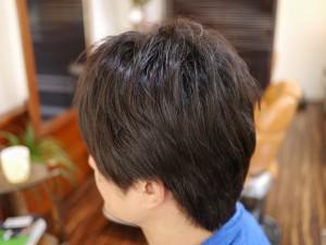 男性縮毛矯正2