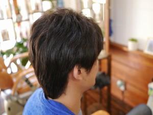 男性縮毛矯正1