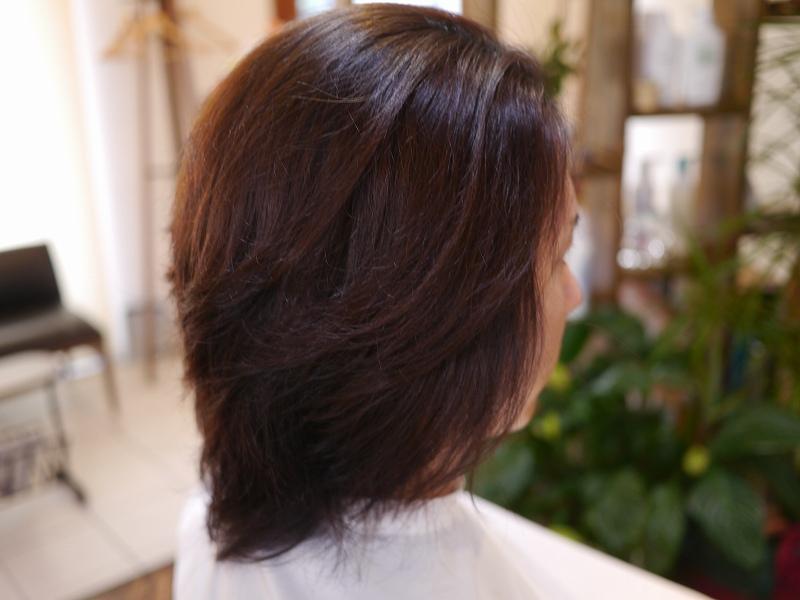 自然なメンズ縮毛矯正