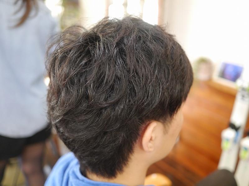 前髪縮毛矯正