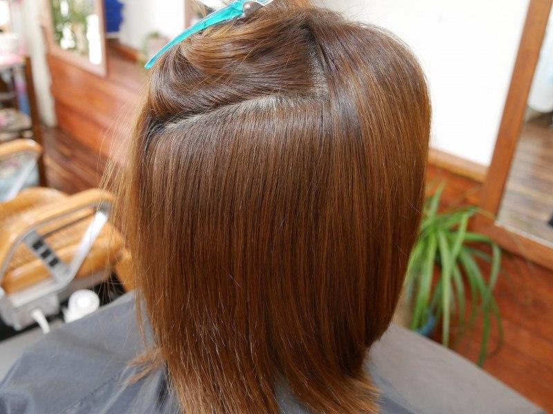 酸性縮毛矯正とカラートリートメント