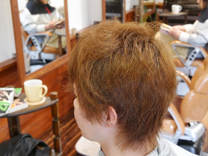 男性の縮毛矯正