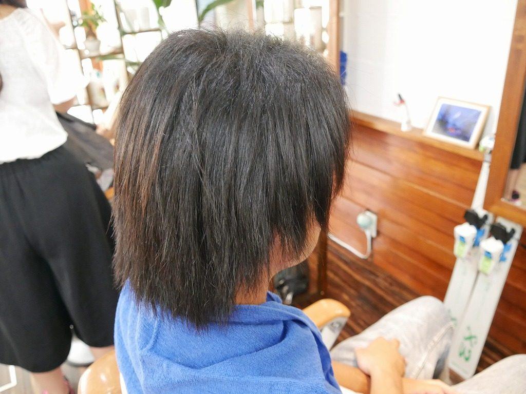 メンズ縮毛矯正