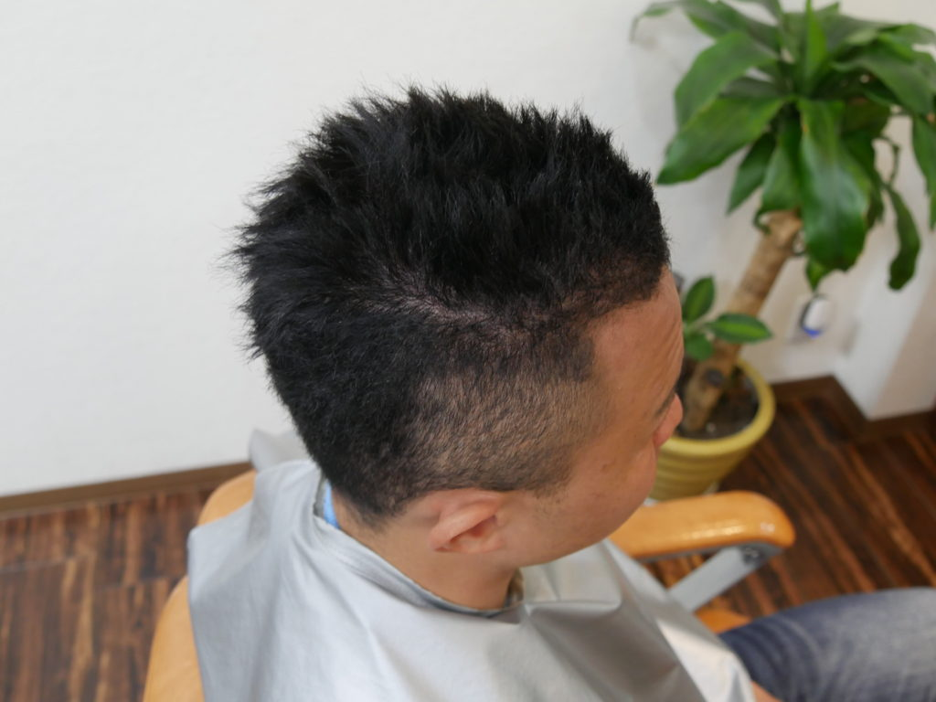 ベリーショートヘア