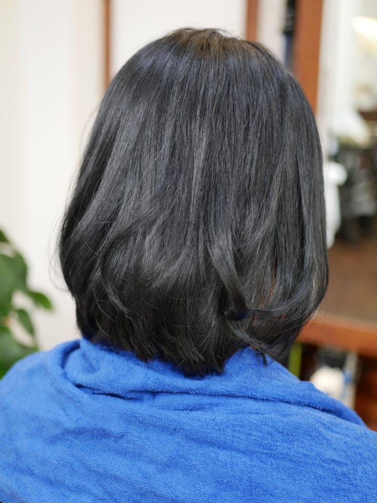 縮毛矯正と巻き髪