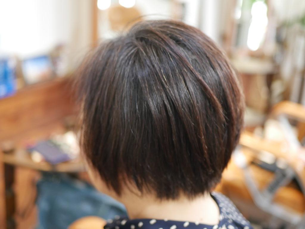 中年の縮毛矯正